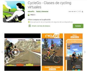 CycleGo Aplicación