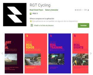 RGT Cycling Aplicación