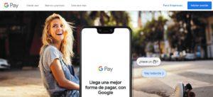 pagina web Google Pay
