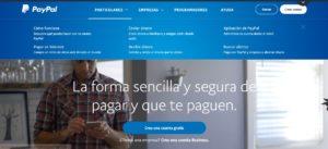 pagina web PayPal