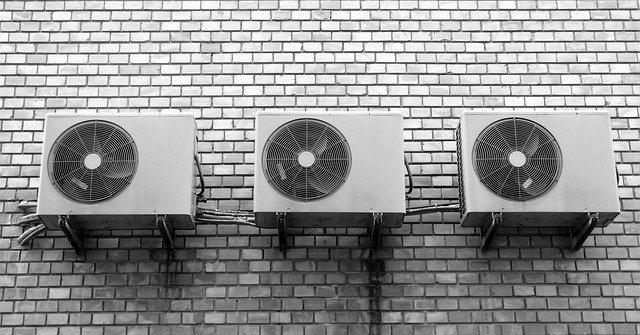 ventiladores en pared